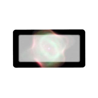 Nebulosa de la pastinaca de la NASA Hubble Etiqueta De Dirección