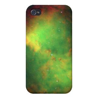 Nebulosa de la pesa de gimnasia iPhone 4/4S funda