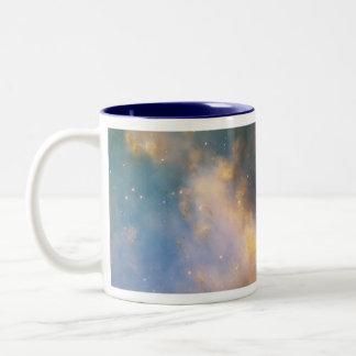 Nebulosa de la pesa de gimnasia, la nebulosa de la taza de dos tonos