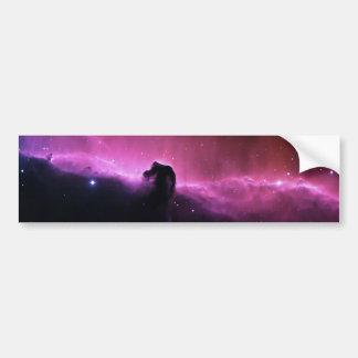Nebulosa de NASAs Horsehead Etiqueta De Parachoque