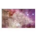 Nebulosa de NASAs Orión Plantilla De Tarjeta Personal