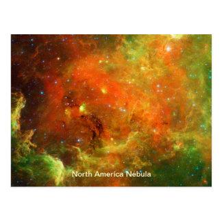Nebulosa de Norteamérica Tarjetas Postales