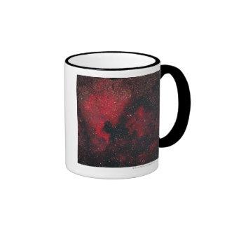 Nebulosa de Norteamérica y nebulosa 2 del pelícano Tazas De Café