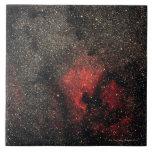 Nebulosa de Norteamérica y nebulosa del pelícano Azulejo Cuadrado Grande