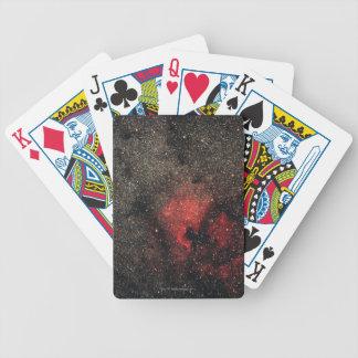 Nebulosa de Norteamérica y nebulosa del pelícano Baraja Cartas De Poker
