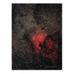 Nebulosa de Norteamérica y nebulosa del pelícano Postal