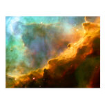 Nebulosa de Omega/del cisne (telescopio de Hubble) Tarjetas Postales