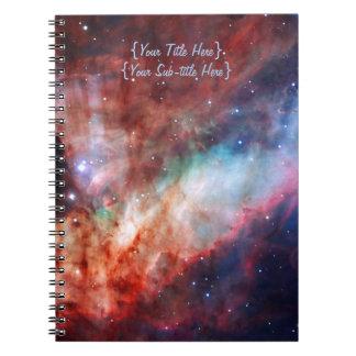 Nebulosa de Omega - nuestro universo asombroso Notebook