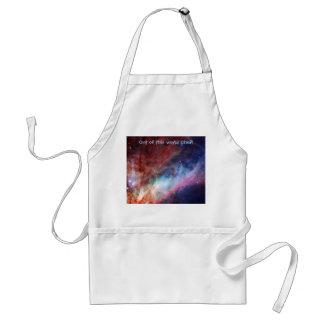 Nebulosa de Omega - nuestro universo asombroso Delantal