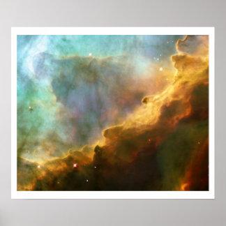 Nebulosa de Omega Posters