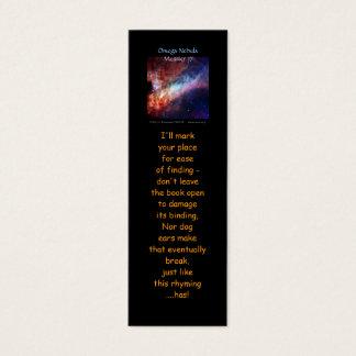 Nebulosa de Omega, una mini-señal más sucia 17 Tarjetas De Visita Mini