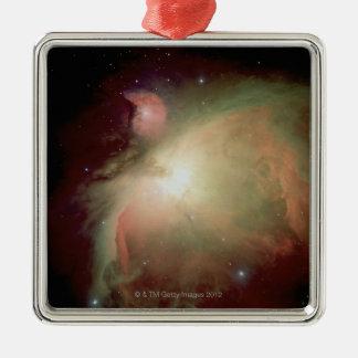 Nebulosa de Orión Adorno Navideño Cuadrado De Metal