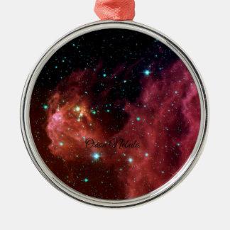 Nebulosa de Orión Adorno Navideño Redondo De Metal