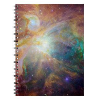 Nebulosa de Orión Libreta