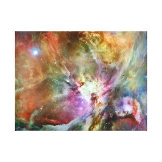 Nebulosa de Orión del espacio exterior Impresión En Lienzo