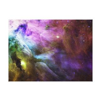 Nebulosa de Orión en espacio Impresión En Lienzo