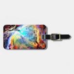 Nebulosa de Orión Etiqueta Para Equipaje