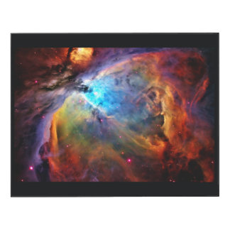 Nebulosa de Orión Impresión En Madera