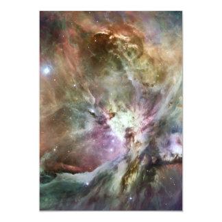 """Nebulosa de Orión Invitación 5"""" X 7"""""""