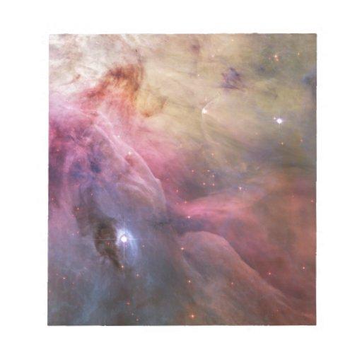 Nebulosa de Orión Libreta Para Notas