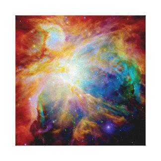 Nebulosa de Orión Lienzo Envuelto Para Galerías