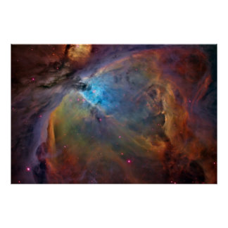 Nebulosa de Orión, M42, NGC 1976 Póster