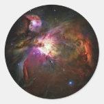 Nebulosa de Orión Pegatinas Redondas
