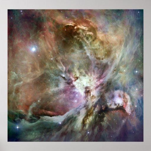 Nebulosa de Orión Poster