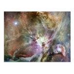 Nebulosa de Orión Tarjetas Postales