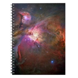 Nebulosa de Orión (telescopio de Hubble) Libretas Espirales