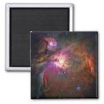 Nebulosa de Orión (telescopio de Hubble) Imán Cuadrado