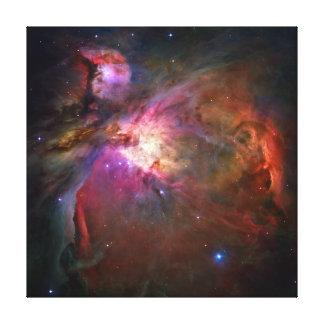Nebulosa de Orión (telescopio de Hubble) Impresión En Lienzo