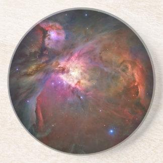 Nebulosa de Orión (telescopio de Hubble) Posavasos Cerveza
