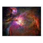 Nebulosa de Orión (telescopio de Hubble) Postal