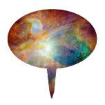 Nebulosa de Orión (telescopios de Hubble y de Spit Figura De Tarta
