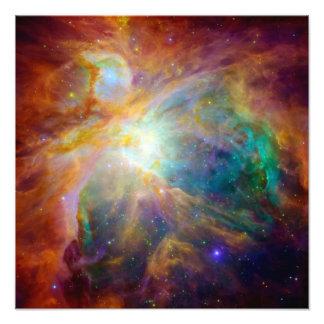 Nebulosa de Orión (telescopios de Hubble y de Spit Cojinete