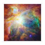 Nebulosa de Orión (telescopios de Hubble y de Spit Impresiones En Lienzo Estiradas