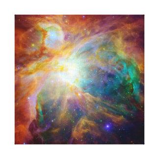 Nebulosa de Orión (telescopios de Hubble y de Spit Lienzo Envuelto Para Galerías