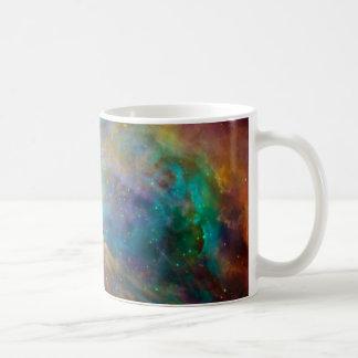 Nebulosa de Orión (telescopios de Hubble y de Spit Taza De Café