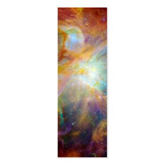 Nebulosa de Orión (telescopios de Hubble y de Tarjetas De Visita