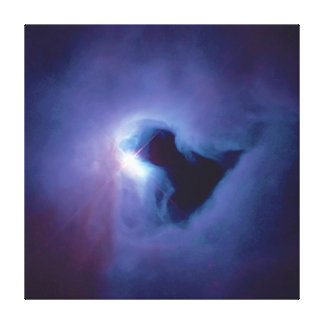 Nebulosa de reflexión de la opinión del primer en impresión en lienzo