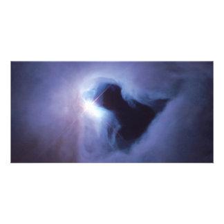 Nebulosa de reflexión en el espacio de Orión Hubbl Tarjeta Fotografica