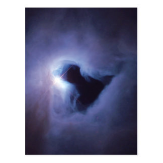 Nebulosa de reflexión en el espacio de Orión Tarjetas Postales