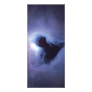 Nebulosa de reflexión en Orión (telescopio de Diseño De Tarjeta Publicitaria