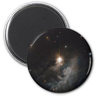 Nebulosa de reflexión IRAS 10082-5647 Imán Redondo 5 Cm