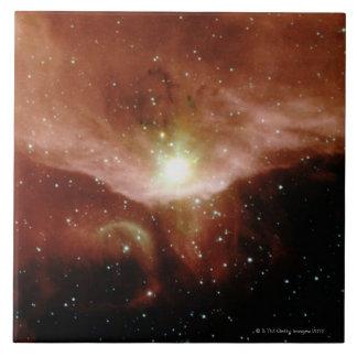 Nebulosa de Sharpless 140 Azulejo Cuadrado Grande