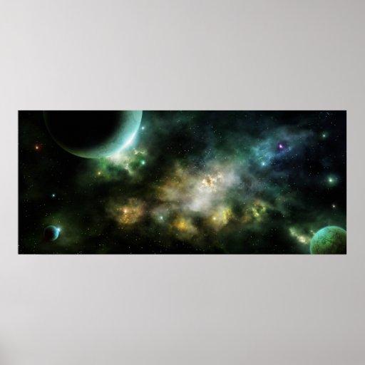 Nebulosa de Solaris Póster