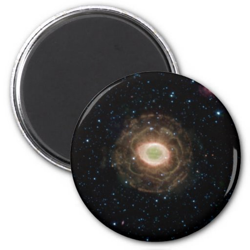 Nebulosa del anillo en infrarrojo imán de nevera