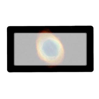 Nebulosa del anillo telescopio de Hubble Etiqueta De Envío