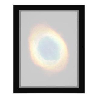 Nebulosa del anillo (telescopio de Hubble) Tarjeta Publicitaria